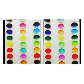 Coloree la caja del iPad de las pinturas de las ac
