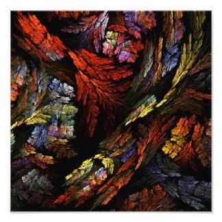 Coloree la impresión de la foto del arte abstracto fotografía
