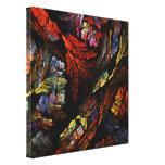 Coloree la impresión envuelta de la lona del arte  impresiones en lienzo estiradas