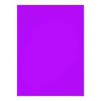 """Coloree la púrpura brillante de las herramientas invitación 5.5"""" x 7.5"""""""