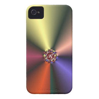 Coloree la tela de seda con el caso del iPhone 4/4 iPhone 4 Case-Mate Coberturas