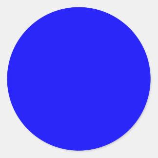 Coloree la vida adaptante de los identificadores pegatina redonda