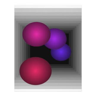 """Coloree las esferas del infinito de la ilusión ópt folleto 8.5"""" x 11"""""""