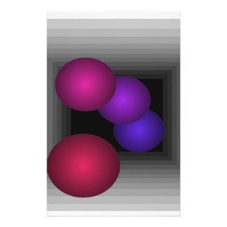 """Coloree las esferas del infinito de la ilusión ópt folleto 5.5"""" x 8.5"""""""