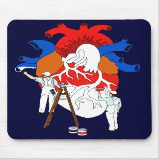 Coloree mi corazón - Mousepad Alfombrilla De Raton