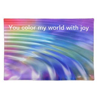 Coloree mi vida con alegría manteles