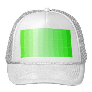 Coloree solamente Ombre de color verde amarillo Gorro