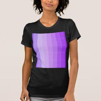 Coloree solamente Ombre púrpura violeta Poleras