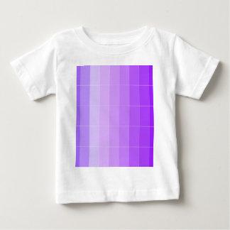 Coloree solamente Ombre púrpura violeta Remeras