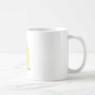 Coloree su mundo taza básica blanca