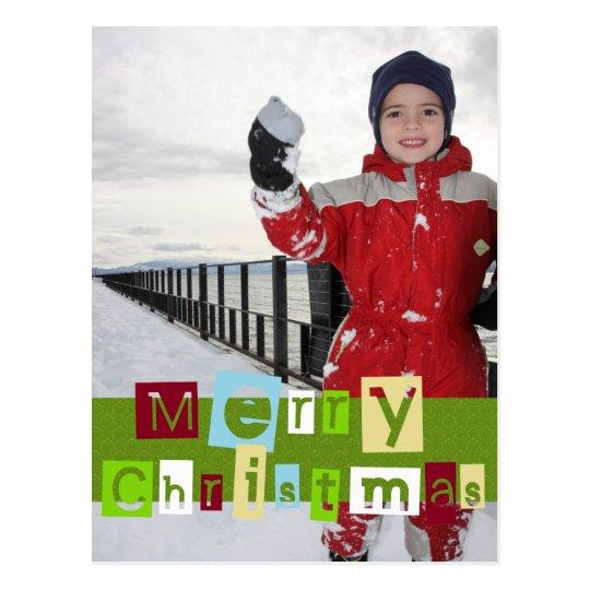 Coloree su navidad tarjetas postales