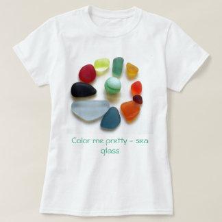 Coloréeme bonito - mar de cristal playera