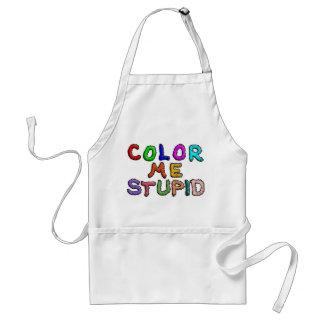 Coloréeme estúpido delantal