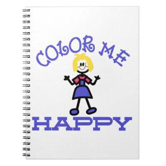 Coloréeme feliz libros de apuntes