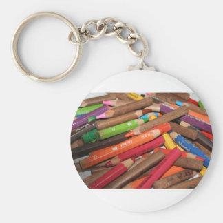 Coloréeme los productos de un arco iris llavero redondo tipo pin