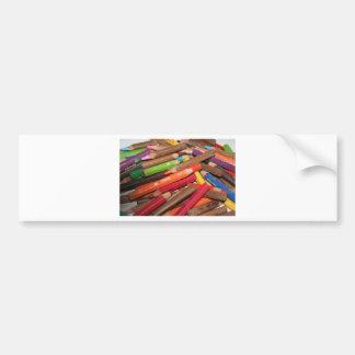 Coloréeme los productos de un arco iris pegatina para auto
