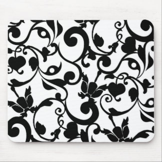 Coloréeme negro alfombrillas de ratón