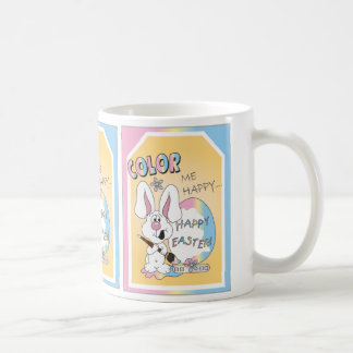 Coloréeme Pascua feliz Tazas De Café