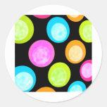 Coloréeme un círculo etiquetas redondas