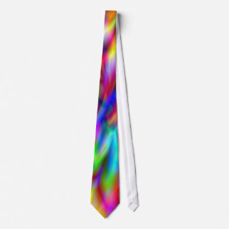 Colores abstractos del arco iris corbata