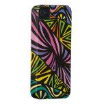 Colores abstractos iPhone 4 Case-Mate carcasas