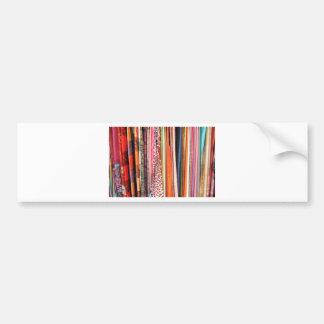 Colores abstractos pegatina para auto