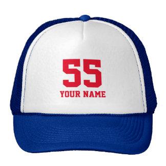 Colores adaptables del equipo del jersey del gorras