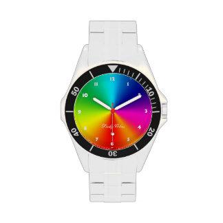 Colores afortunados reloj