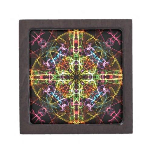 Colores agudos caja de joyas de calidad