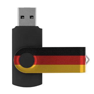 COLORES ALEMANES DE LA BANDERA + sus ideas Memoria USB 2.0 Giratoria