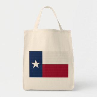 Colores azules blancos rojos del estado solitario bolsa tela para la compra