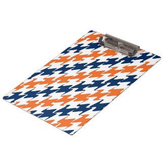 Colores azules y blancos anaranjados del equipo +