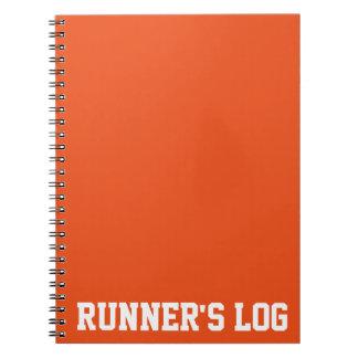 Colores básicos del registro del corredor simple libros de apuntes