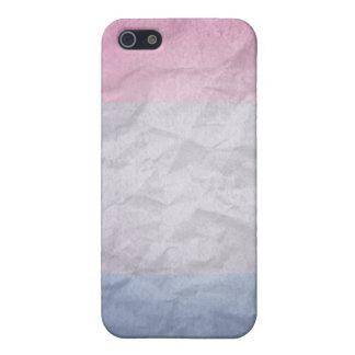 COLORES BISEXUALES del ORGULLO 3D iPhone 5 Carcasas