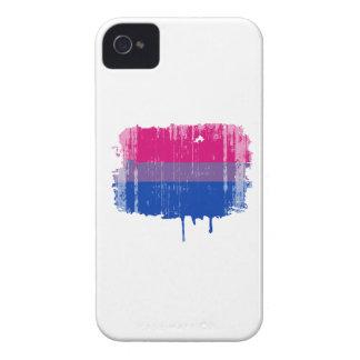 Colores bisexuales del orgullo apenados iPhone 4 carcasas