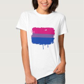 Colores bisexuales del orgullo polera