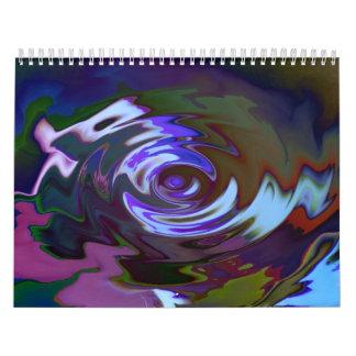 Colores bonitos calendarios de pared