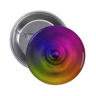 Colores brillantes de la falta de definición espir pin