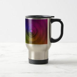 Colores brillantes de la falta de definición taza térmica