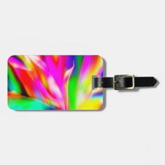 Colores brillantes e intrépidos etiquetas bolsas