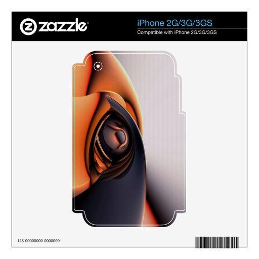 colores calcomanía para el iPhone 2G