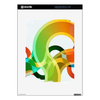 colores calcomanías para el iPad 2