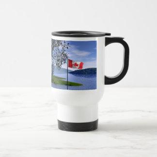 Colores canadienses tazas