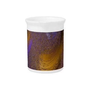 colores congelados de oro jarras de beber