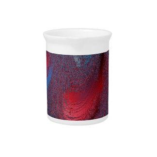 colores congelados rojos jarras para bebida