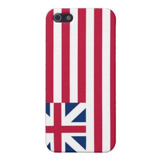 Colores continentales magníficos de la bandera de  iPhone 5 cárcasas