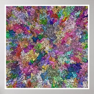 Colores creativos #1 póster