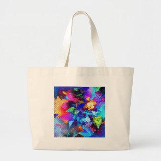 Colores creativos del arte de la calle de la pintu bolsa tela grande