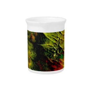 colores cremosos, jarra