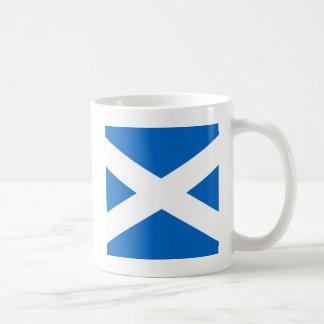 Colores cruzados escoceses de Escocia Taza
